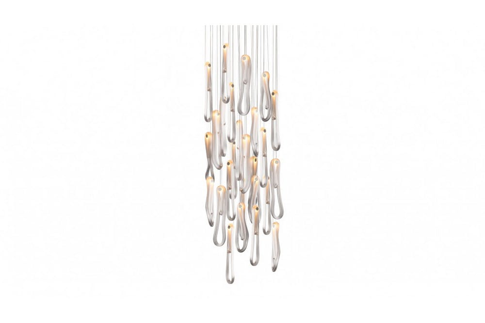 87.26 Suspension Lamp by Omer Arbel for Bocci