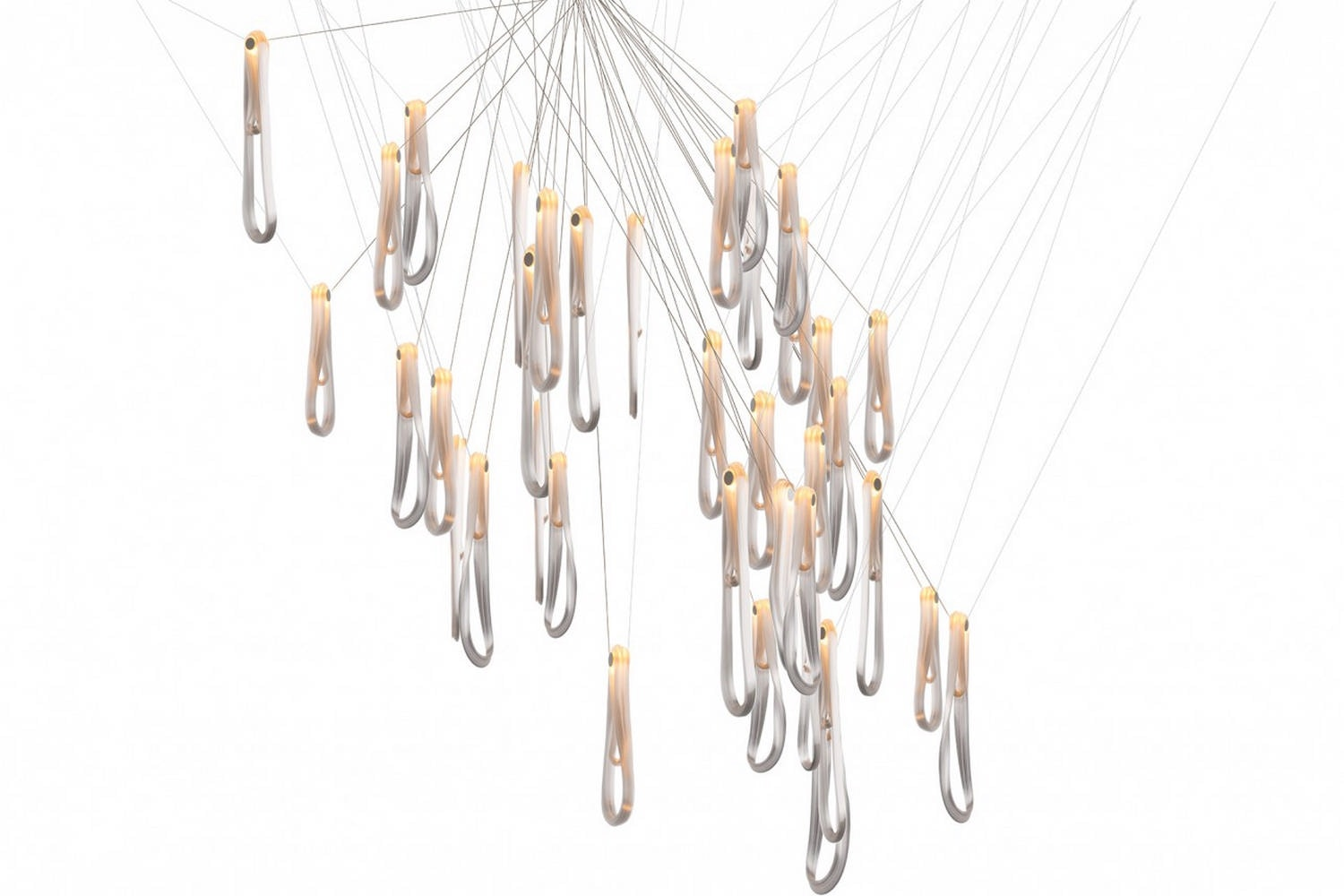87.37 Suspension Lamp by Omer Arbel for Bocci