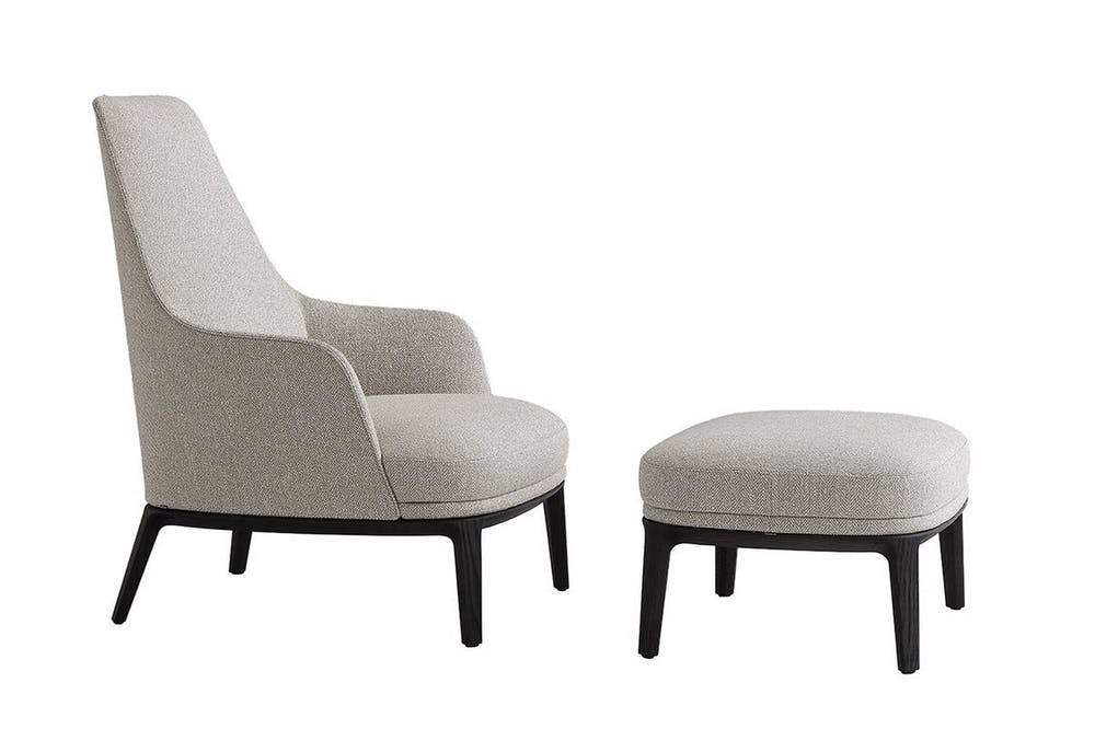Jane Lounge Armchair by Emmanuel Gallina for Poliform