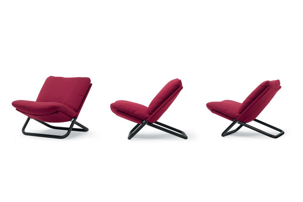Cross Armchair by Marcello Cuneo for Arflex