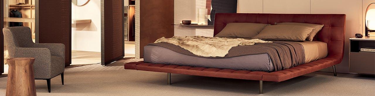 Designer Beds & Bed Frames In King, Queen, Double & Single | Poliform  Australia