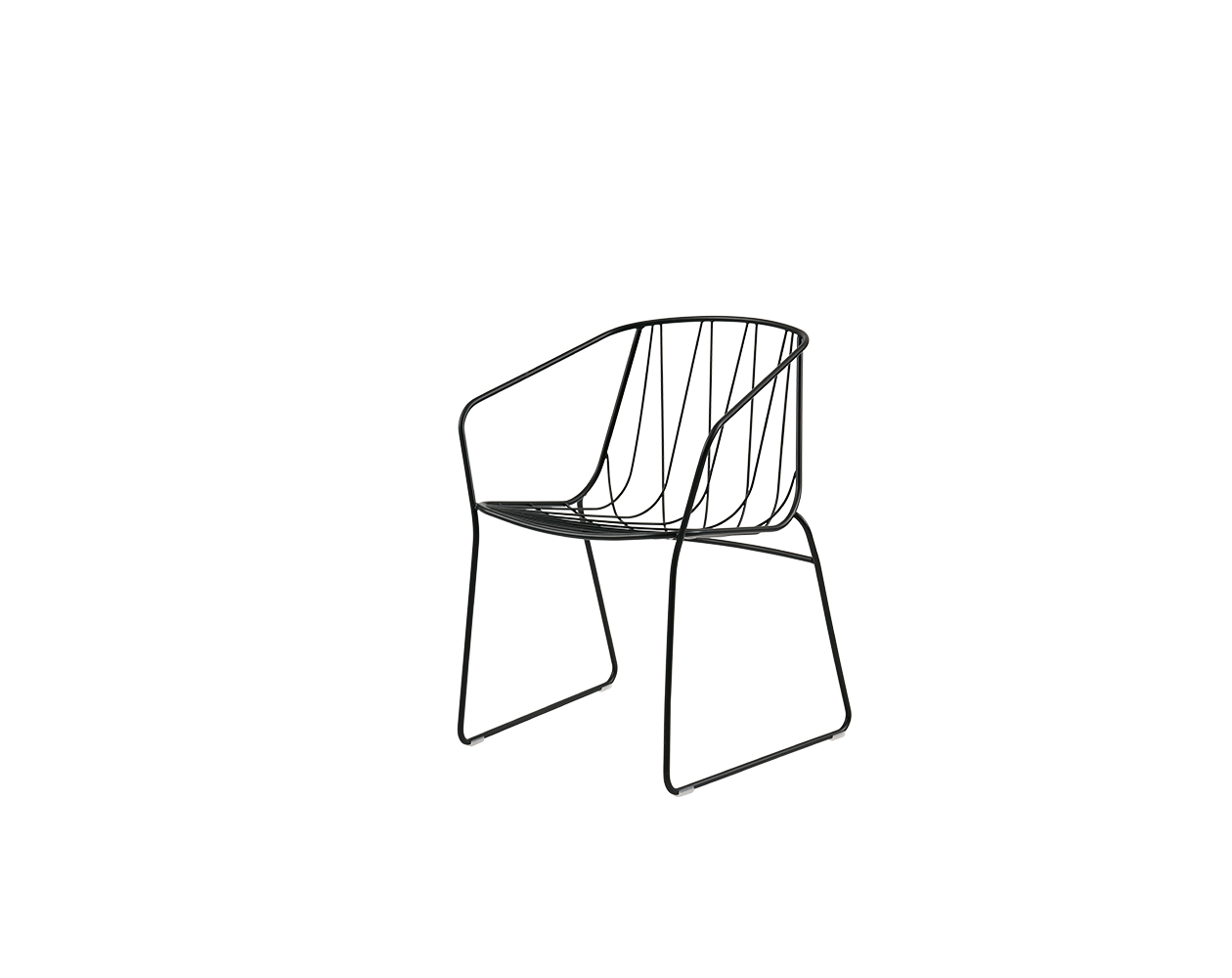 Chee Chair with Arms