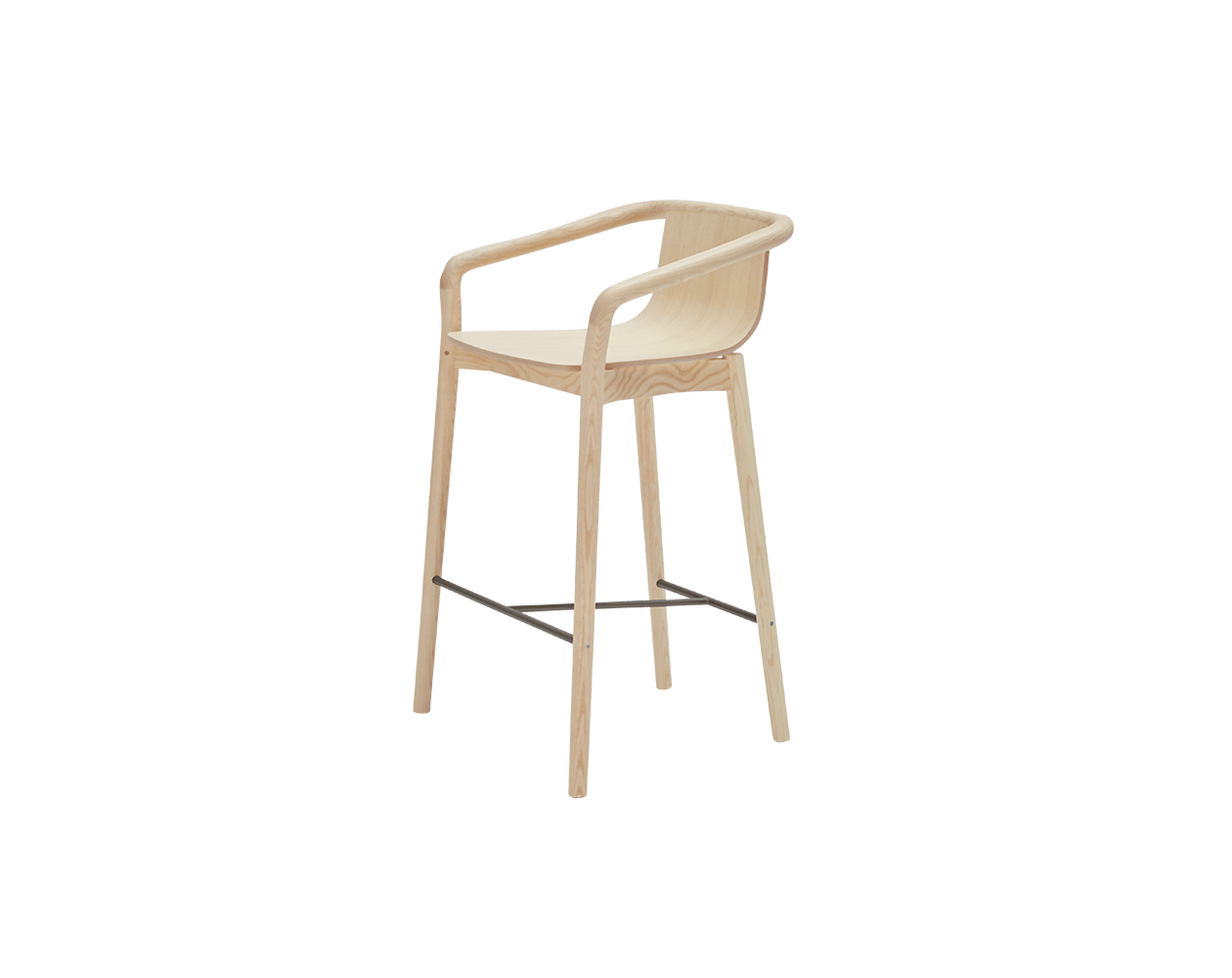 Pleasant Thomas Bar Stool By Metrica For Sp01 Sp01 Design Caraccident5 Cool Chair Designs And Ideas Caraccident5Info