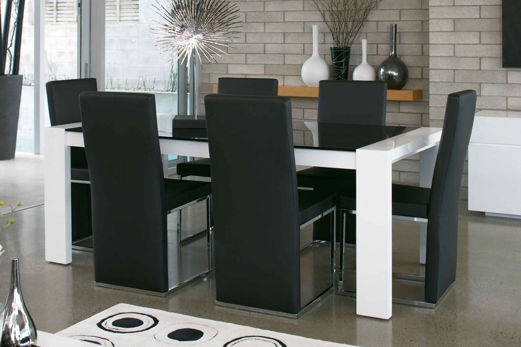 Milano 7-Piece Rectangular Dining Suite