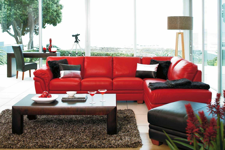 Demi 2 Piece Leather Corner Lounge Suite by La-Z-Boy