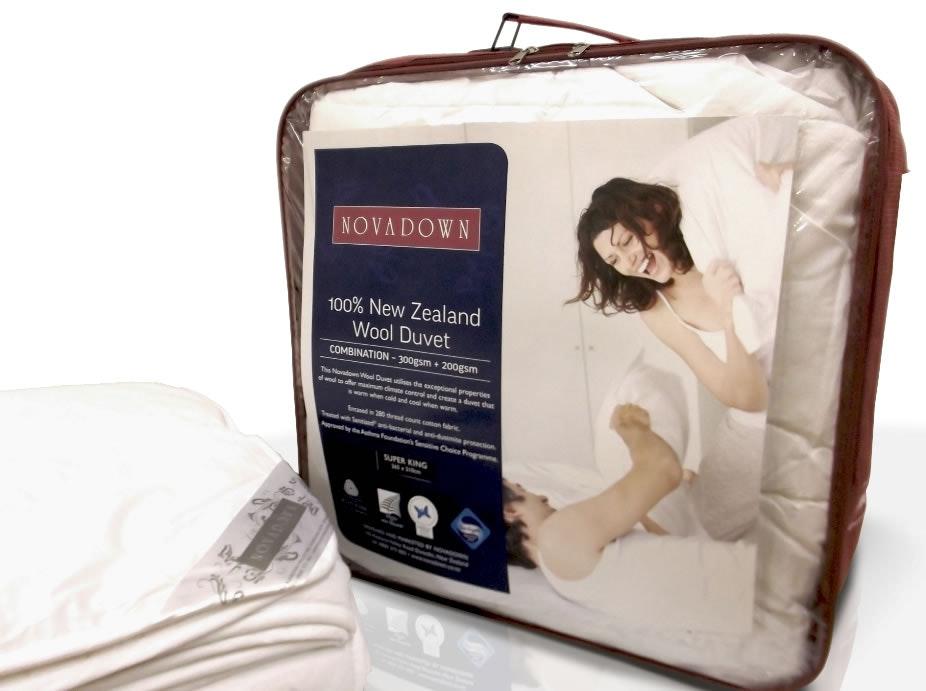 Novadown 100% Wool Combo Duvet Inner