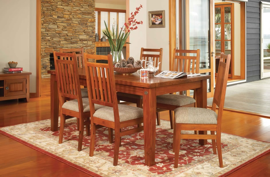 Clutha 7-Piece Rectangular Dining Suite