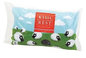 Kiwi Rest Wool Blend Pillow
