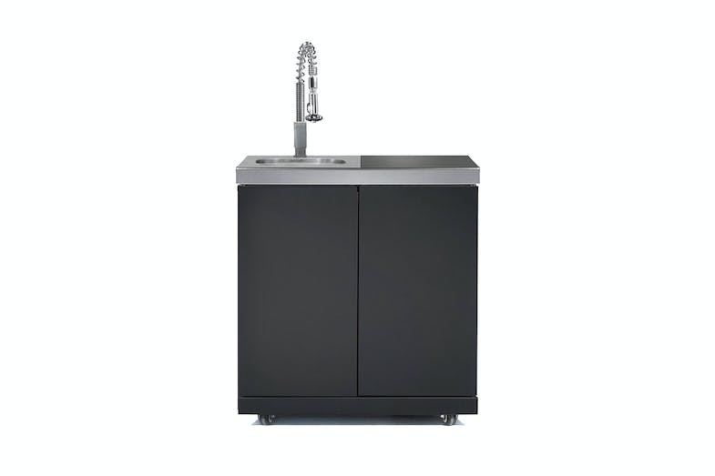 Galaxy Black Sink, Bin & Storage Module by Gasmate