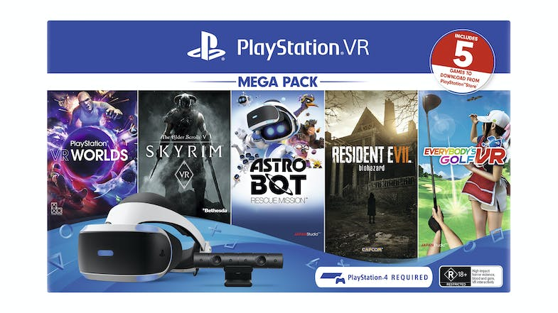PlayStation 4 VR Mega Pack 2