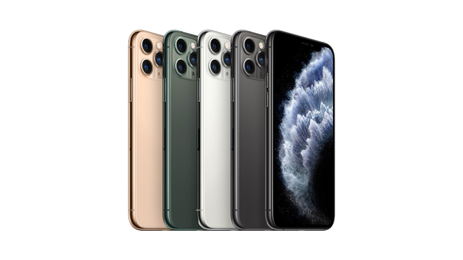 iPhone 11 Pro Max 256GB on Spark , Midnight Green