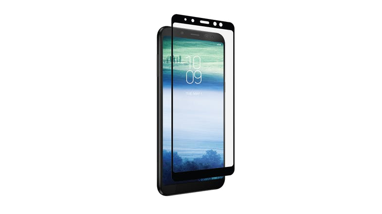 Zagg Invisibleshield Glass Curve Screen Protector for Samsung Galaxy A8