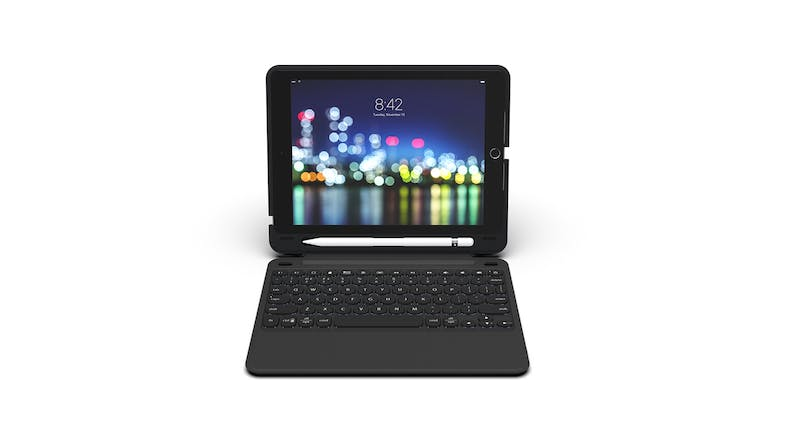 "Zagg Slim Book Go Keyboard for iPad 9.7"" - Black"