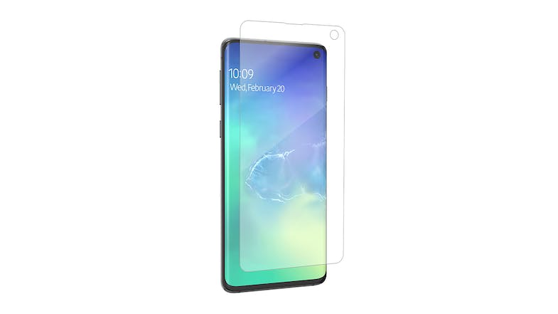 Zagg Invisibleshield Ultra Clear Screen Protector for Samsung Galaxy S10
