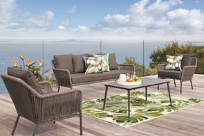 Abbey 4 Piece Outdoor Lounge Setting