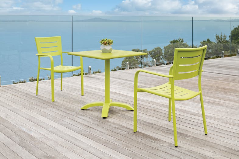 Robert 3 Piece Outdoor Setting - Lime