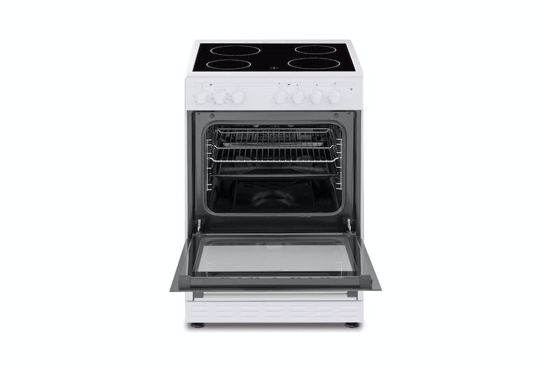 Tisira 60cm Upright Freestanding Cooker with Ceramic Cooktop