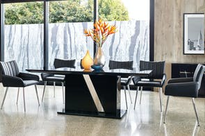 Vico 7 Piece Dining Suite by Insato Furniture