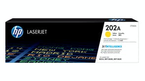 HP 202A Laserjet Toner Cartridge - Yellow