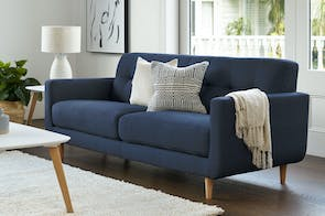 Hogan 3 Seater Fabric Sofa