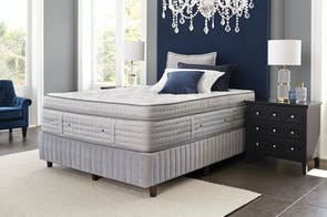 La Rochelle Medium King Bed by Crown Jewel