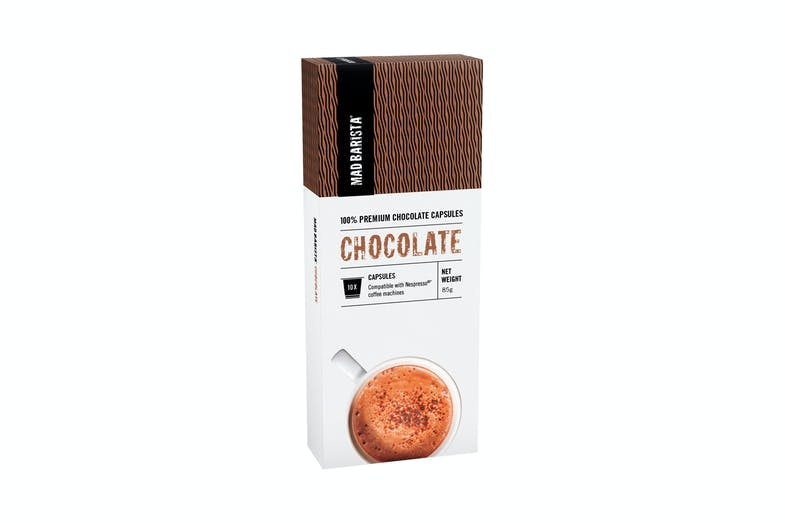 Mad Barista Hot Chocolate Capsules
