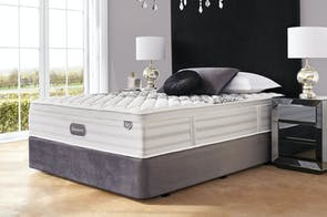 Reign Firm Queen Bed by Beautyrest