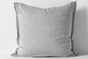 Herringbone Dove European Pillowcase by Aura