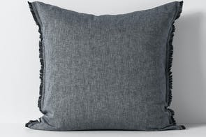 Herringbone Ink European Pillowcase by Aura