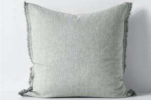 Herringbone Limestone European Pillowcase by Aura