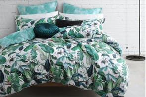 Oasis Fern Duvet Cover Set by Logan & Mason