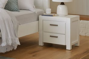 Astor 2 Drawer Bedside Table by Dixie Cummings