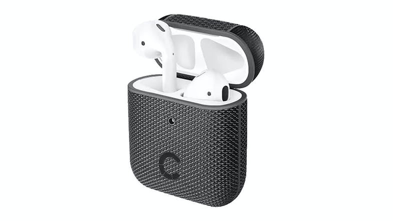 Cygnett TekView Case for AirPods 1&2 - Black