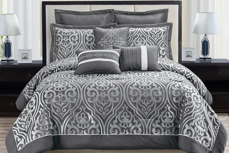 Catalina 8 Piece Comforter Set By Marlborough Textiles Harvey Norman New Zealand