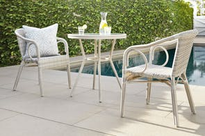 Milano 3 Piece Outdoor Dining Setting