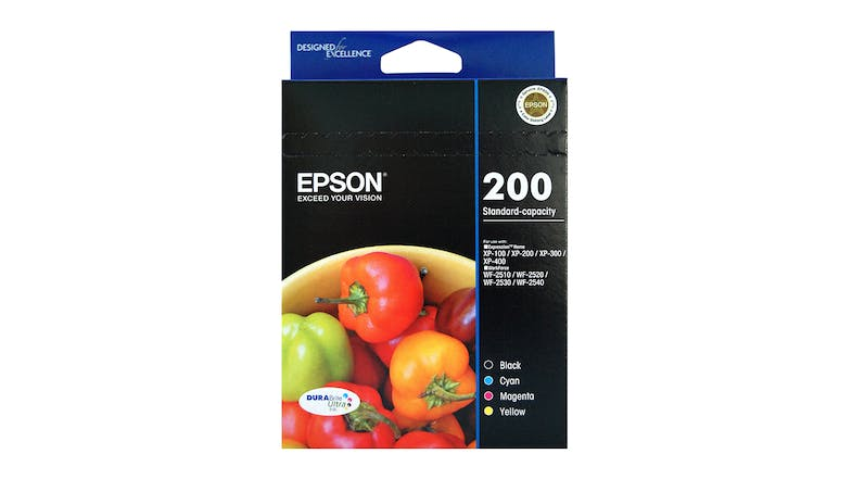 Epson 200 Ink Cartridge Pack - Value Pack