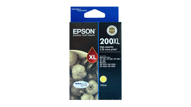 Epson 200XL Yellow High Capacity Ink Cartridge
