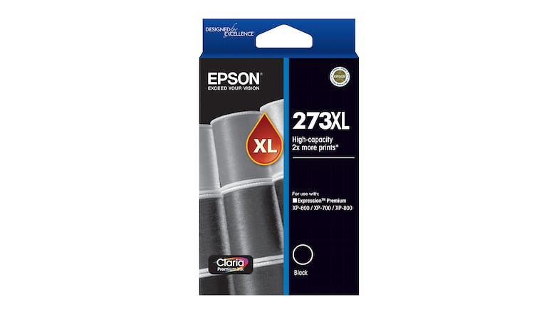 Epson 273XL High Capacity Ink Cartridge - Black