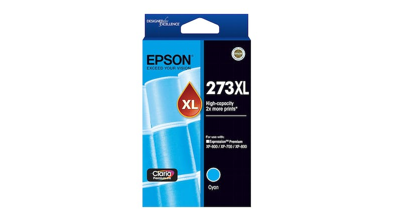 Epson 273XL Cyan High Capacity Ink Cartridge