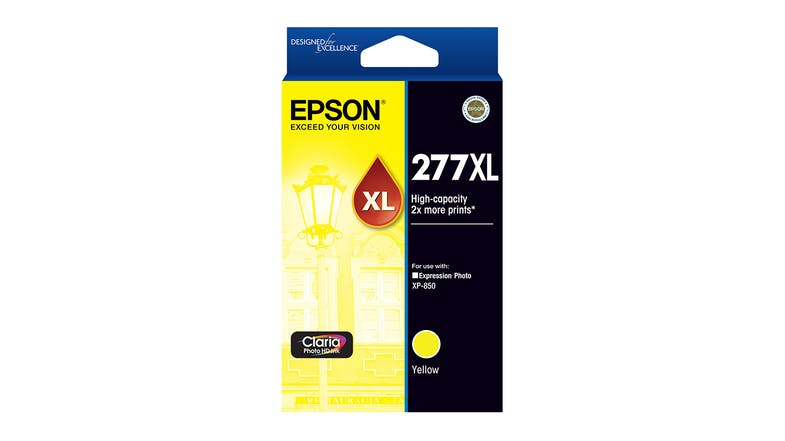 Epson 277XL High Capacity Yellow Claria Photo HD Ink Cartridge