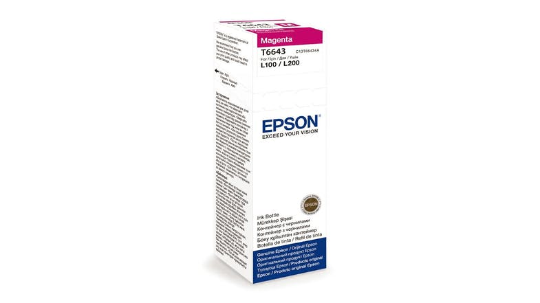 Epson T664 Ink Bottle - Magenta