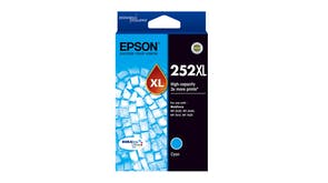 Epson 252XL High Capacity DURABrite Ultra Ink Cartridge - Cyan