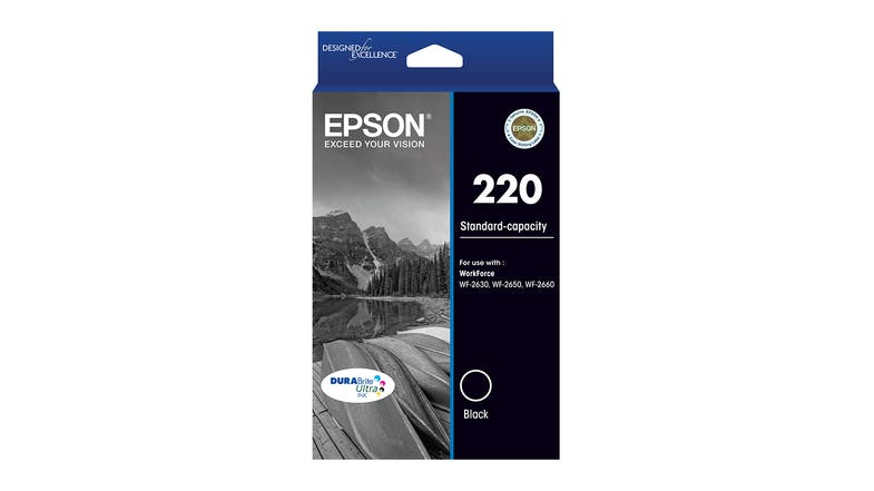 Epson 220 DURABrite Ultra Ink Cartridge - Black