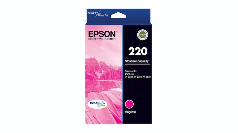 Epson 220 DURABrite Ultra Ink Cartridge - Magenta