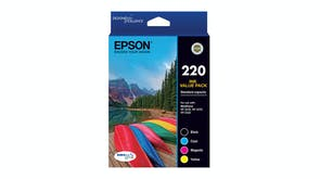 Epson 220 High Capacity DURABrite Ultra - Ink Cartridge Value Pack