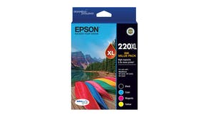 Epson 220XL High Capacity DURABrite Ultra Ink Cartridge - Value Pack