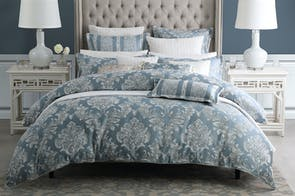 Bellevue Blue Duvet Cover Set by Da Vinci