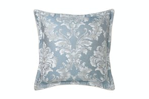 Bellevue Blue European Pillowcase by Da Vinci