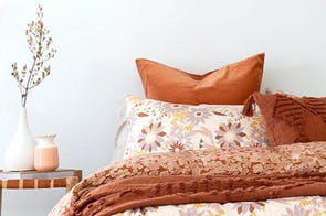 Delilah European Pillowcase by Bambury