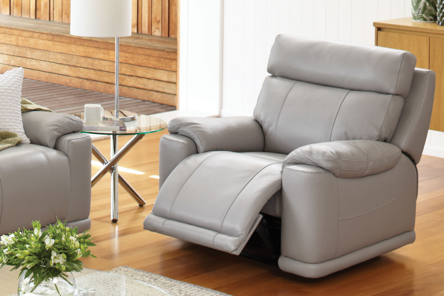 Huntingdon Leather Recliner Chair